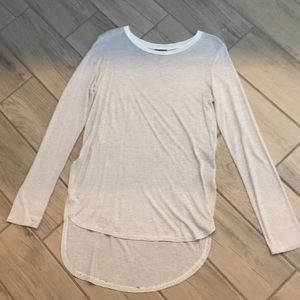 NWOT Mossimo long sleeve tunic white S